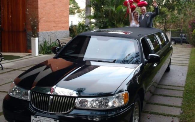 casamento com limousine