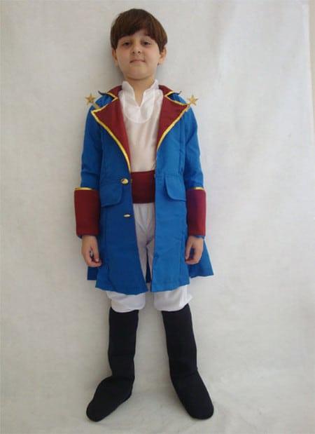 como fazer Fantasia de pequeno príncipe