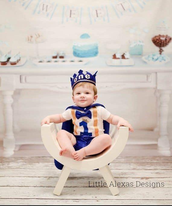 como fazer Fantasia de príncipe para bebê