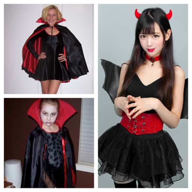 fantasia de Drácula feminina
