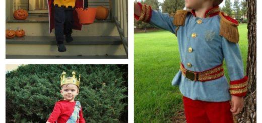 fantasia de príncipe infantil