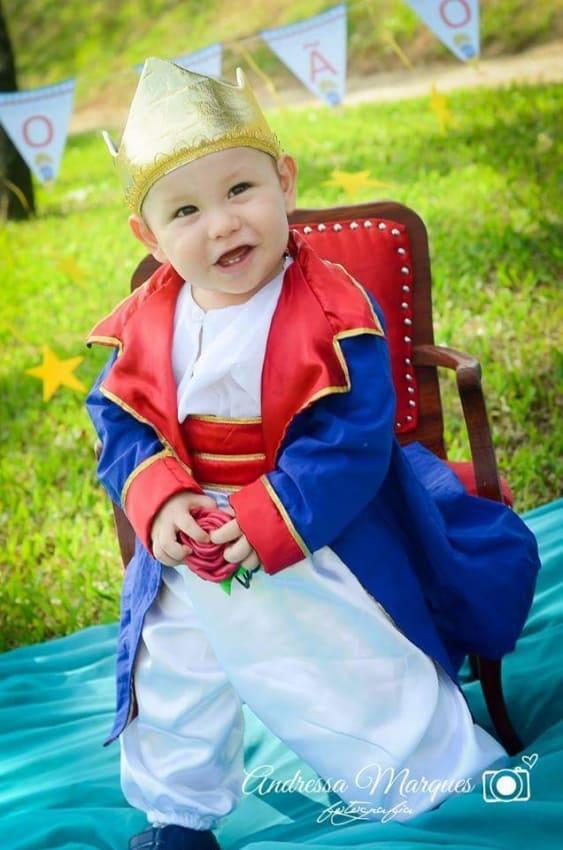 linda Fantasia de pequeno príncipe