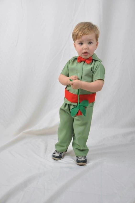 modelo de Fantasia de pequeno príncipe