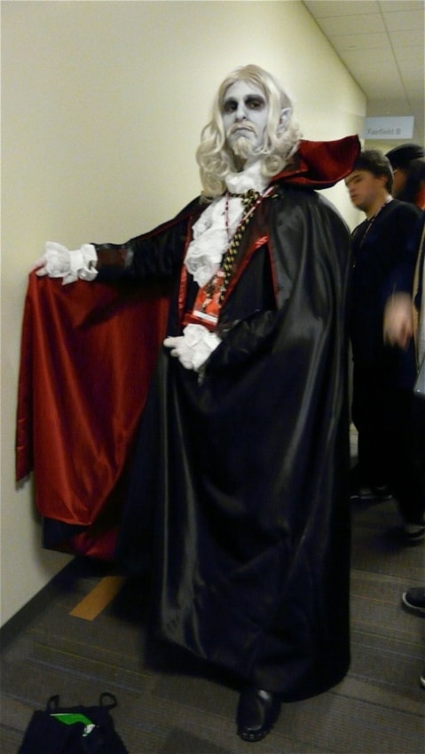 modelos de Fantasia de Drácula masculina