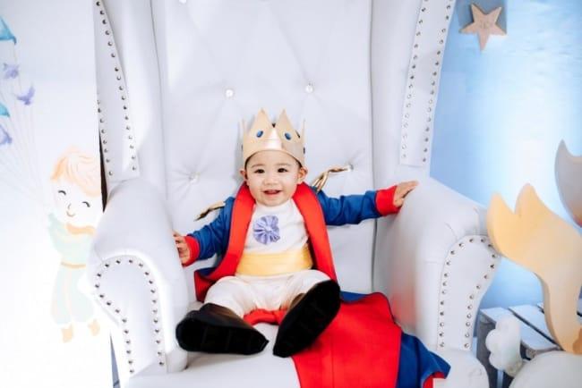 modelos de Fantasia de príncipe para bebê