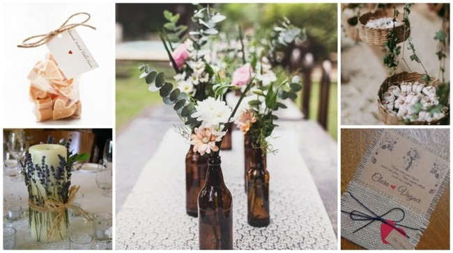 ideias DIY para casamento