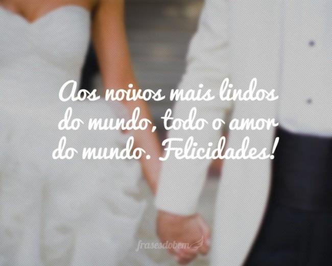 frase curta para casamento