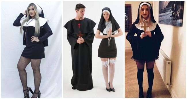 ideias de fantasia de freira para carnaval