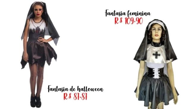 onde comprar fantasia de freira