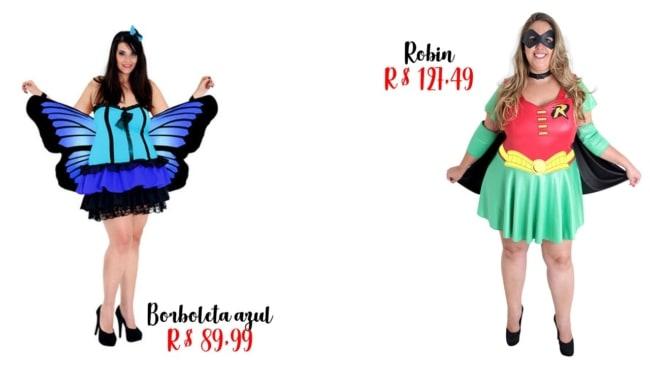 onde comprar fantasia plus size feminina