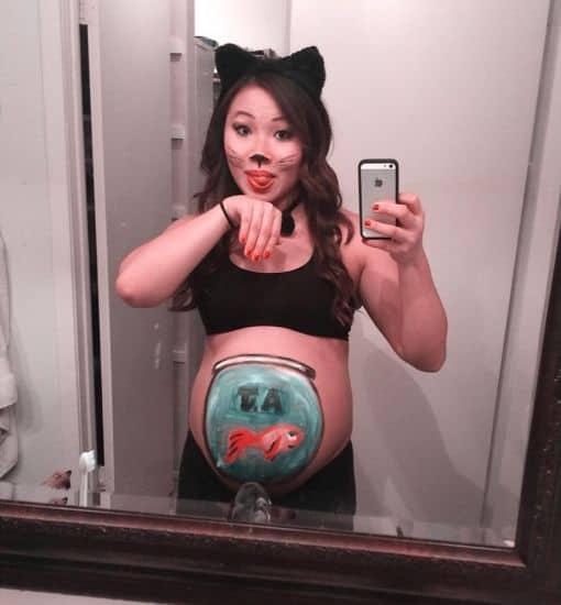 Dica de fantasia de gatinha para grávida