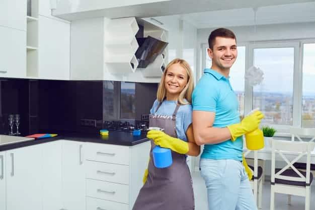 Divisão das tarefas domésticas entre o casal