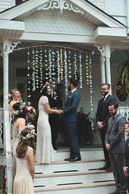 Tipos de casamento em casa