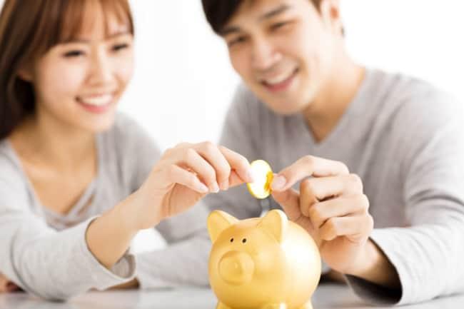 Vida financeira dos recém-casados