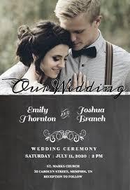 convites de casamento com foto e modelos