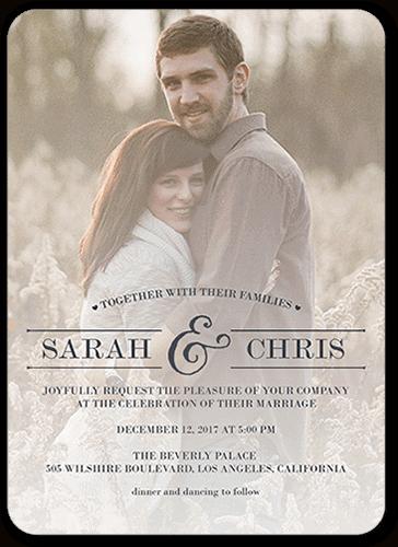 convites de casamento com plano de fundo