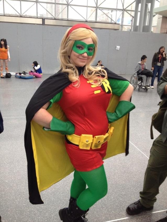 fantasia do Robin feminina cosplay