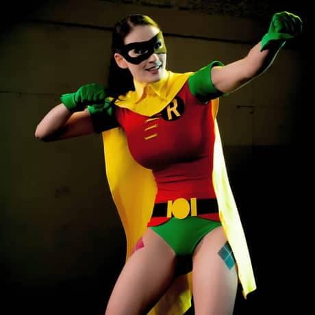 fantasia do Robin feminina