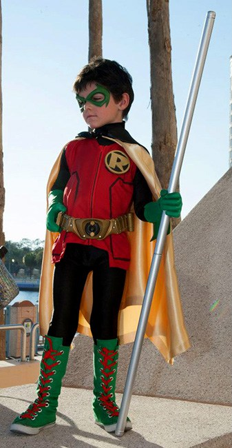 fantasia do Robin infantil menino