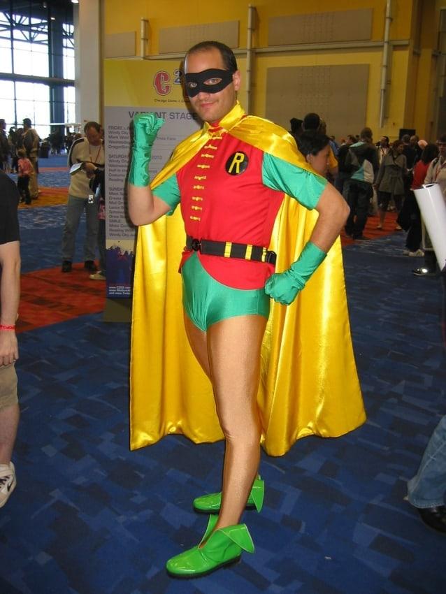 fantasia do Robin masculina classica