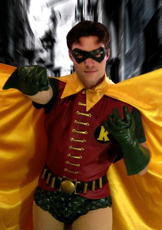 fantasia do Robin masculina com sunga