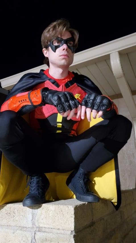 fantasia do Robin masculina