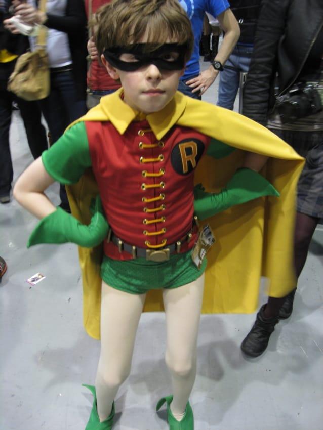 fantasia do Robin para crianças