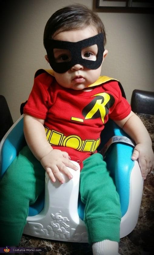 fantasia do Robin pequena baby
