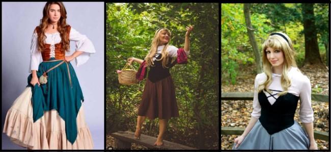 fotos de fantasia de camponesa