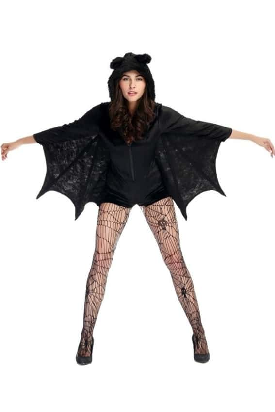 fantasia adulta de morcego