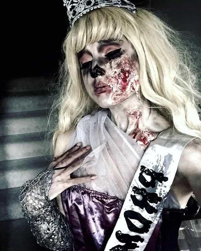 fantasia de terror feminina