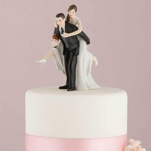casal de noivinhos para bolo de casamento