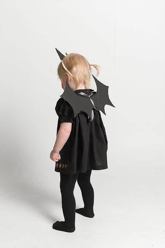 fantasia de morcego simples e fácil de fazer