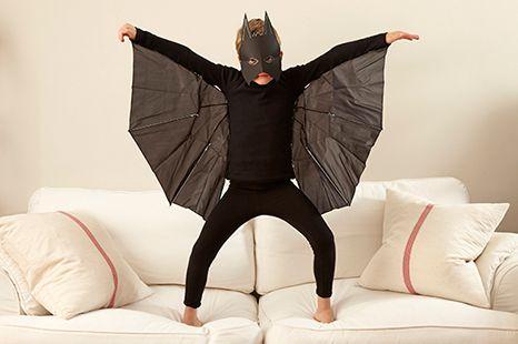fantasia de morcego para menino