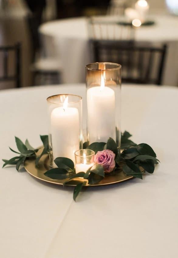 dicas de elementos para decoração minimalista em casamento