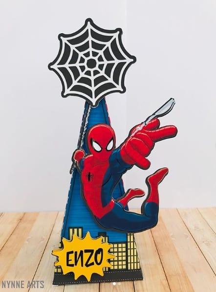 caixa personalizada do Homem Aranha