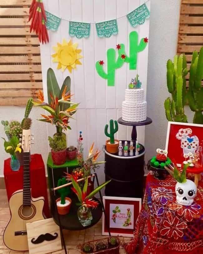 festa mexicana para aniversário