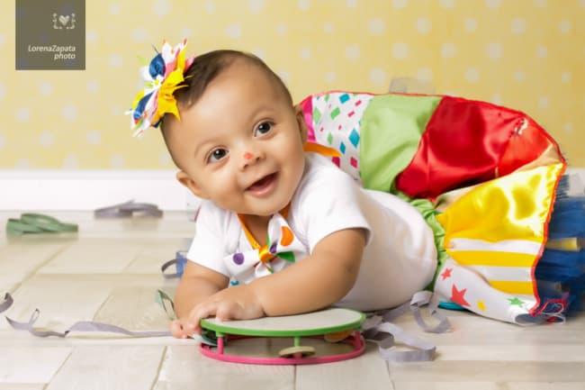 fantasia de palhacinha com saia para bebê