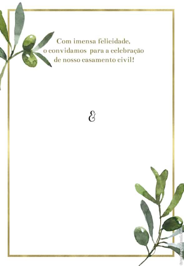 convite de casamento civil para imprimir grátis