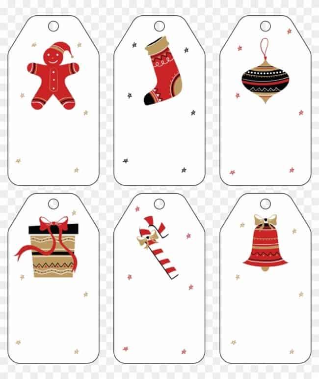 tags de agradecimento de natal para imprimir gratis