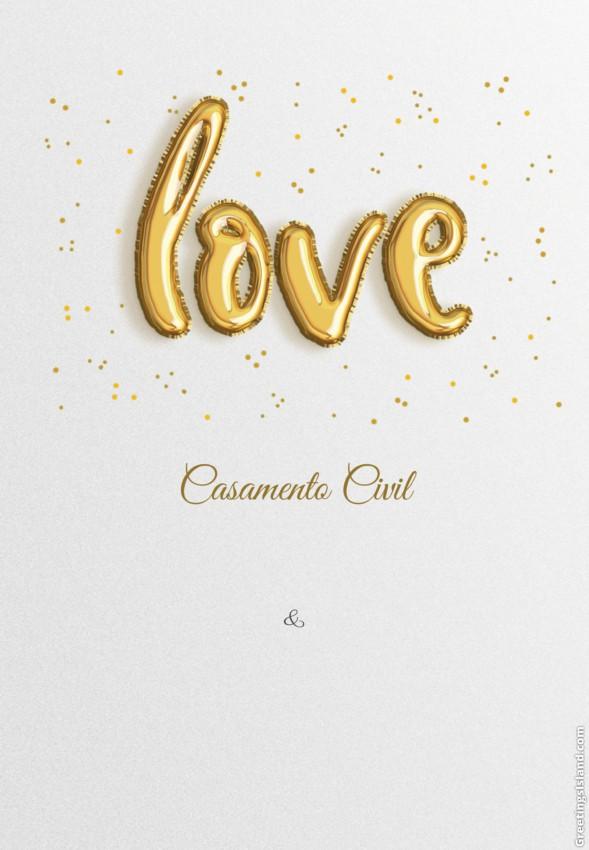 convite simples de casamento civil para imprimir