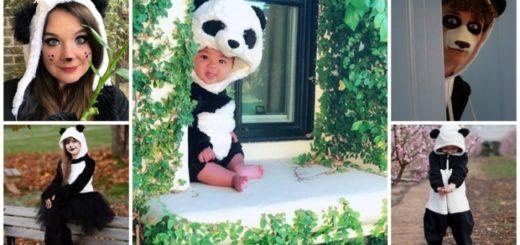 ideias para fantasia de panda