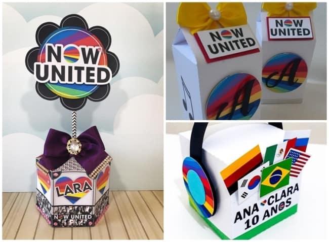 lembrancinhas personalizadas para festa Now United