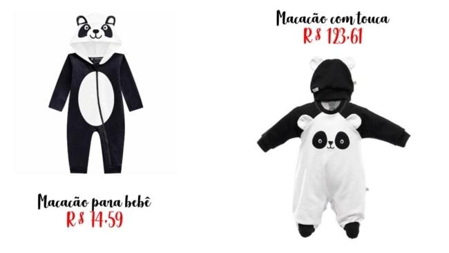 onde comprar fantasia de panda