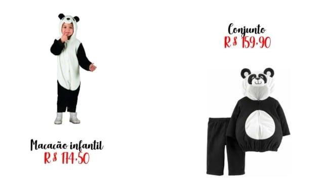 precos de fantasia panda