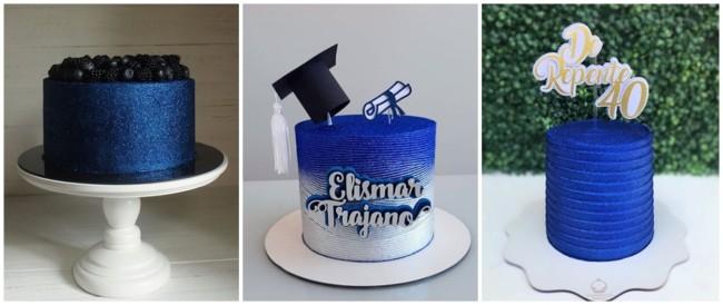 glow cake azul