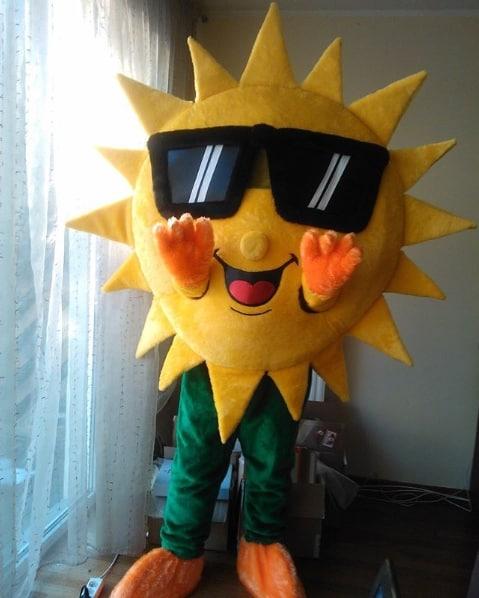 fantasia de sol para homem