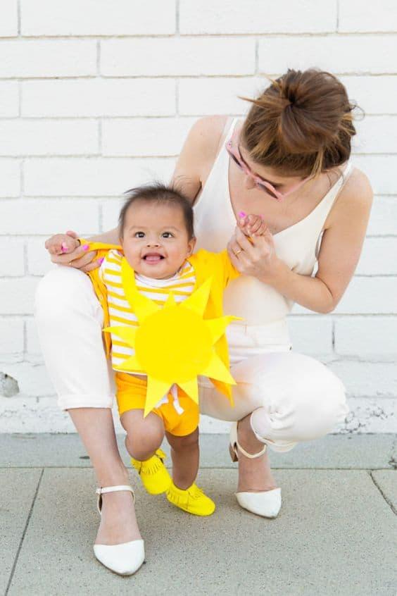 fantasia de sol para bebe