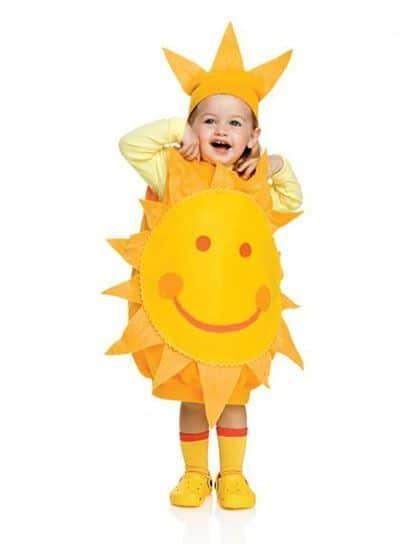 fantasia de sol para menina