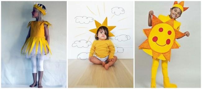 ideias de fantasias infantis de sol